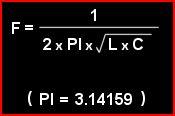Formula Ressonância