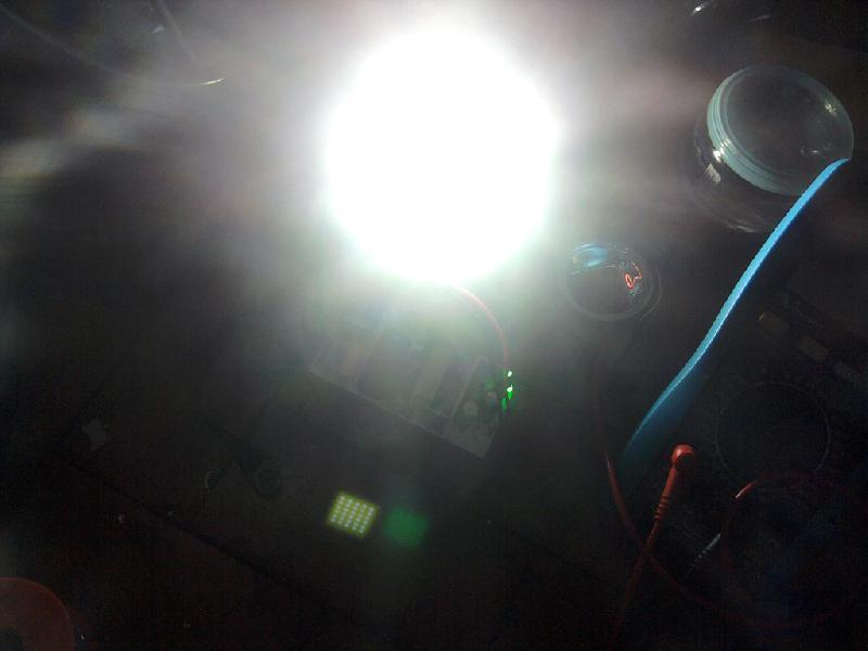 Brilho do LED 30W