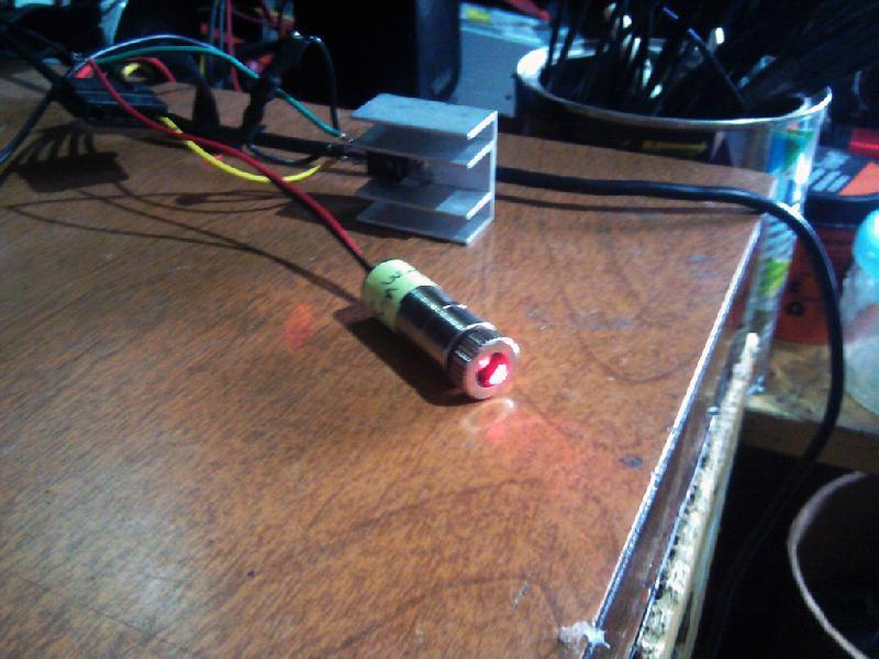 Módulo de Laser Vermelho (Gravador de DVD) com Driver LM317