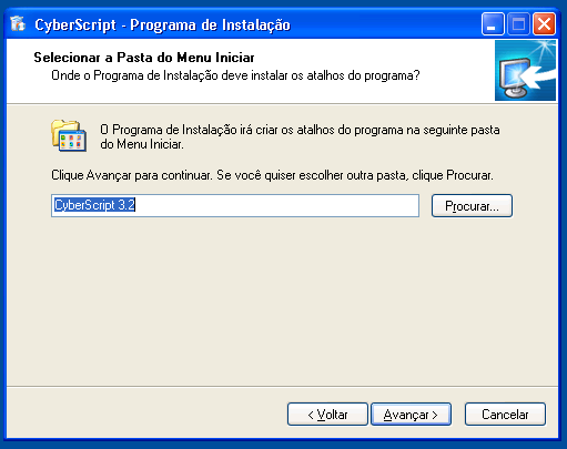 Instalação CyberScript